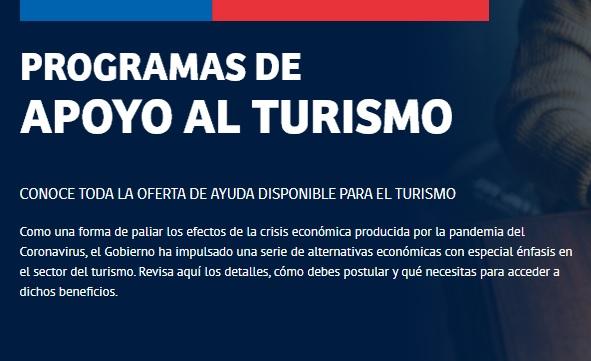 Gobierno pone a disposición una batería de fondos de apoyo al Turismo