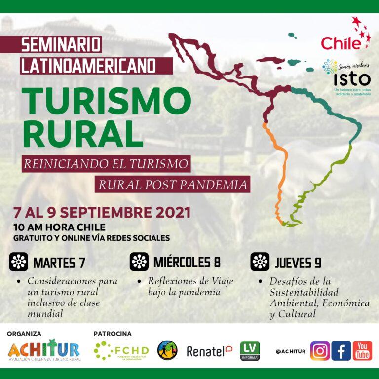 ACHITUR da Lanzamiento al Tercer Seminario Latinoamericano de Turismo Rural
